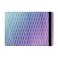 Abstract Lines Background Apple iPad Mini Flip Case