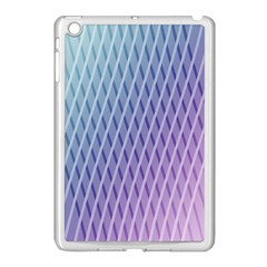 Abstract Lines Background Apple iPad Mini Case (White)