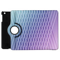 Abstract Lines Background Apple iPad Mini Flip 360 Case