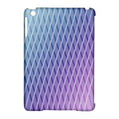Abstract Lines Background Apple iPad Mini Hardshell Case (Compatible with Smart Cover)