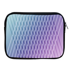 Abstract Lines Background Apple Ipad 2/3/4 Zipper Cases