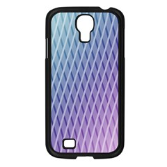 Abstract Lines Background Samsung Galaxy S4 I9500/ I9505 Case (Black)
