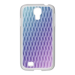 Abstract Lines Background Samsung Galaxy S4 I9500/ I9505 Case (white)