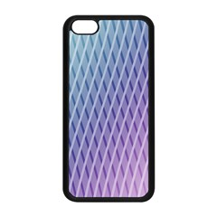 Abstract Lines Background Apple iPhone 5C Seamless Case (Black)