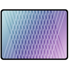 Abstract Lines Background Double Sided Fleece Blanket (Large)