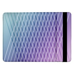 Abstract Lines Background Samsung Galaxy Tab Pro 12.2  Flip Case