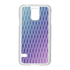 Abstract Lines Background Samsung Galaxy S5 Case (white)