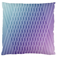 Abstract Lines Background Large Flano Cushion Case (Two Sides)
