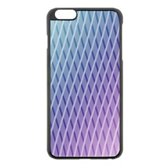 Abstract Lines Background Apple Iphone 6 Plus/6s Plus Black Enamel Case