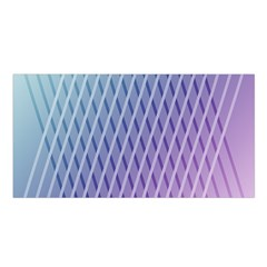 Abstract Lines Background Satin Shawl