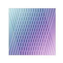 Abstract Lines Background Small Satin Scarf (Square)