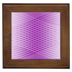 Abstract Lines Background Pattern Framed Tiles