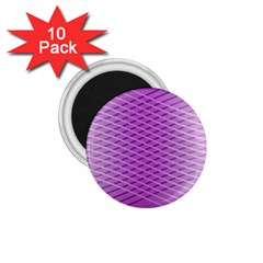 Abstract Lines Background Pattern 1.75  Magnets (10 pack)