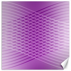 Abstract Lines Background Pattern Canvas 20  X 20
