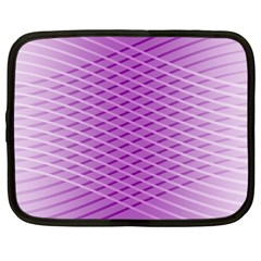 Abstract Lines Background Pattern Netbook Case (large)