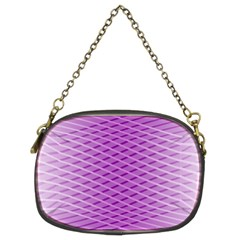 Abstract Lines Background Pattern Chain Purses (two Sides)