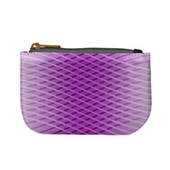 Abstract Lines Background Pattern Mini Coin Purses