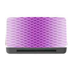 Abstract Lines Background Pattern Memory Card Reader with CF