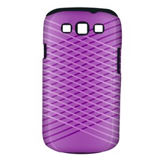 Abstract Lines Background Pattern Samsung Galaxy S III Classic Hardshell Case (PC+Silicone)