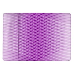 Abstract Lines Background Pattern Samsung Galaxy Tab 10 1  P7500 Flip Case
