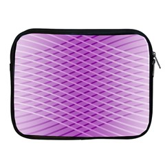 Abstract Lines Background Pattern Apple Ipad 2/3/4 Zipper Cases