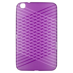 Abstract Lines Background Pattern Samsung Galaxy Tab 3 (8 ) T3100 Hardshell Case