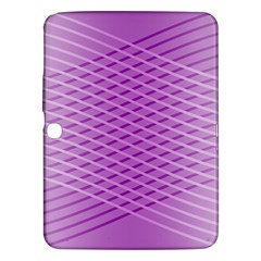 Abstract Lines Background Pattern Samsung Galaxy Tab 3 (10.1 ) P5200 Hardshell Case