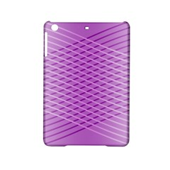 Abstract Lines Background Pattern Ipad Mini 2 Hardshell Cases