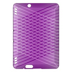 Abstract Lines Background Pattern Kindle Fire HDX Hardshell Case
