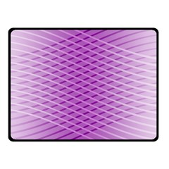 Abstract Lines Background Pattern Double Sided Fleece Blanket (Small)