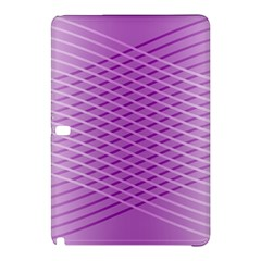 Abstract Lines Background Pattern Samsung Galaxy Tab Pro 10.1 Hardshell Case