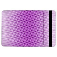 Abstract Lines Background Pattern iPad Air Flip