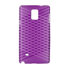 Abstract Lines Background Pattern Samsung Galaxy Note 4 Hardshell Case