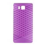 Abstract Lines Background Pattern Samsung Galaxy Alpha Hardshell Back Case Front