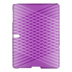 Abstract Lines Background Pattern Samsung Galaxy Tab S (10.5 ) Hardshell Case