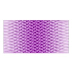 Abstract Lines Background Pattern Satin Shawl