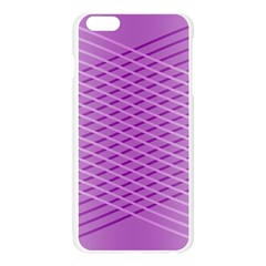 Abstract Lines Background Pattern Apple Seamless iPhone 6 Plus/6S Plus Case (Transparent)