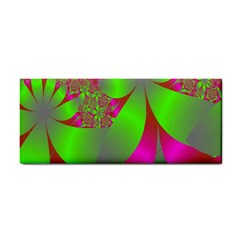 Green And Pink Fractal Cosmetic Storage Cases