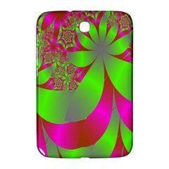 Green And Pink Fractal Samsung Galaxy Note 8.0 N5100 Hardshell Case