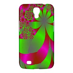 Green And Pink Fractal Samsung Galaxy Mega 6.3  I9200 Hardshell Case