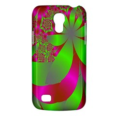 Green And Pink Fractal Galaxy S4 Mini