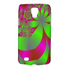 Green And Pink Fractal Galaxy S4 Active