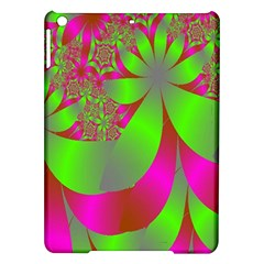 Green And Pink Fractal iPad Air Hardshell Cases