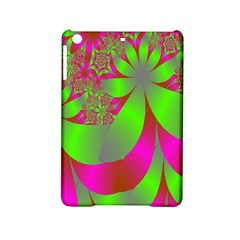 Green And Pink Fractal iPad Mini 2 Hardshell Cases