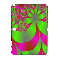 Green And Pink Fractal Galaxy Note 1