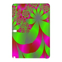 Green And Pink Fractal Samsung Galaxy Tab Pro 12.2 Hardshell Case