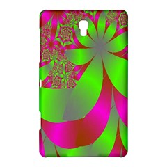 Green And Pink Fractal Samsung Galaxy Tab S (8.4 ) Hardshell Case