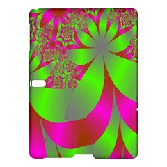 Green And Pink Fractal Samsung Galaxy Tab S (10 5 ) Hardshell Case