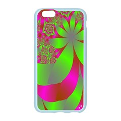 Green And Pink Fractal Apple Seamless iPhone 6/6S Case (Color)