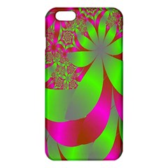 Green And Pink Fractal iPhone 6 Plus/6S Plus TPU Case